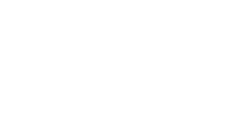 Item:	Seating 004 Country:	Ghana People:	Ashanti Size:	11 x 16