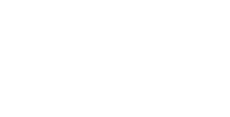 Item:	Seating 005 Country:	Ghana People:	Ashanti Size:	12 x 18