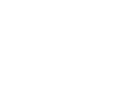 "Item:	Shield 005 Country:	South Africa Size:	18"" / 45.72cm Mat"