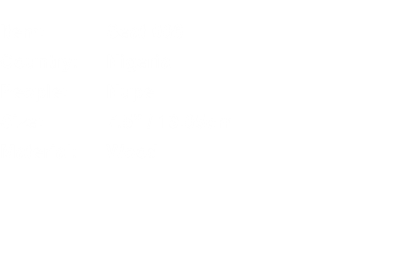 "Item:	Seat 006 Country:	Nigeria People:	Nupe Size:	7.5"" / 19.0"