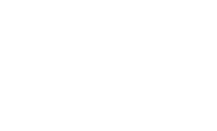 Item:	Weapon (Dagger) 007 Country:	Cameroon People:	Bangwa Siz